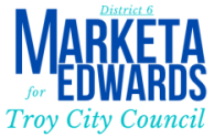 Marketa Edwards for Troy City Council